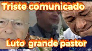 TRISTE COMUNICADO MORREU MAIS UM PASTOR! EDIR MACEDO E VALDEMIRO SANTIAGO LAMENTARAM