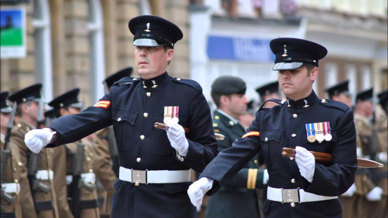 Royal Corps Of Signals Freedom Of Blandford Parade 2012