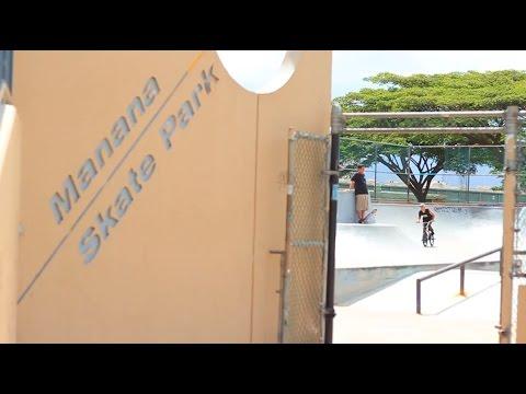 "Hawaii BMX - RideHI - Manana Edit ""Its about Time"" - Oahu pearl city skatepark edit"