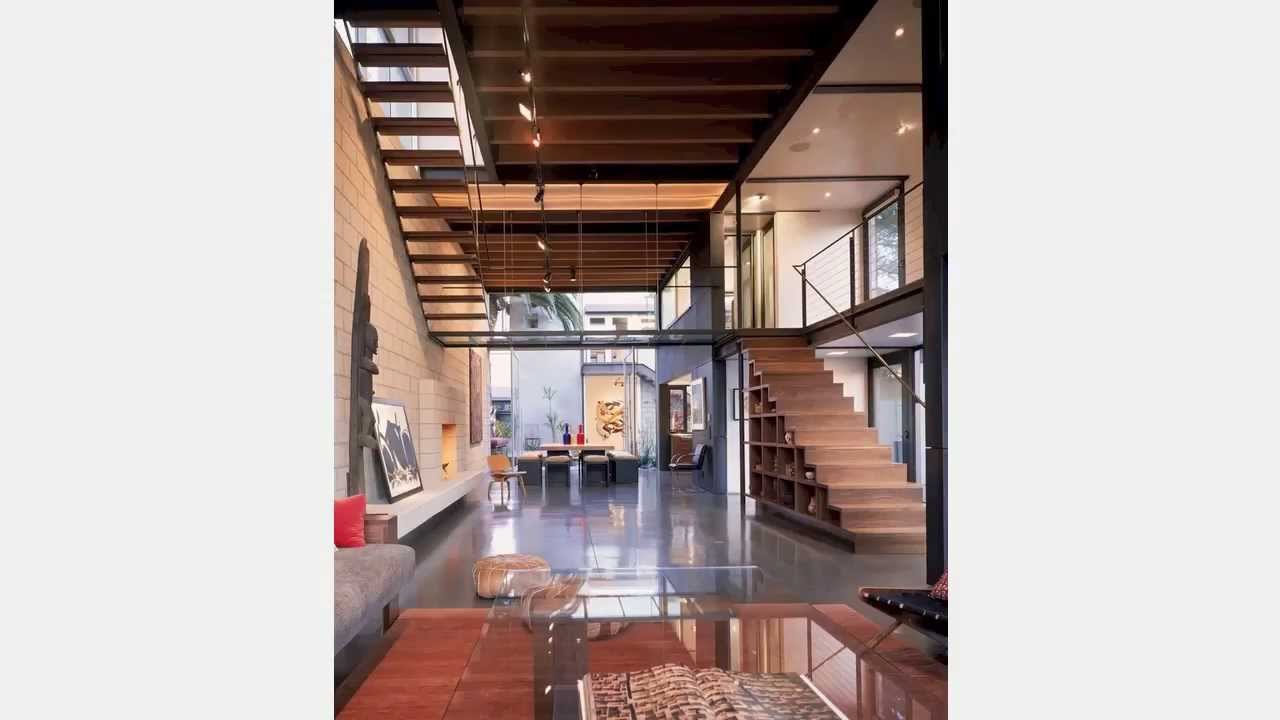 Emcing the Narrow Home - An Architect's Viewpoint on modern homes interior design, natural homes interior design, old homes interior design,