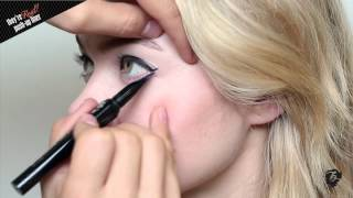 How To Apply Perfect Winged Eyeliner w/ they're real! push-up liner Thumbnail
