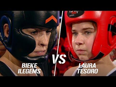 Laura Tesoro Vs Bieke Ilegems | Boxing Stars