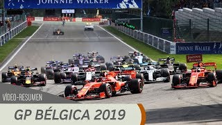 Resumen del GP de Bélgica - F1 2019