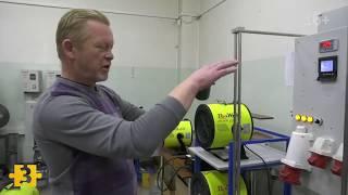 новостной обзор цеха по производству тепловых пушек Rexwatt