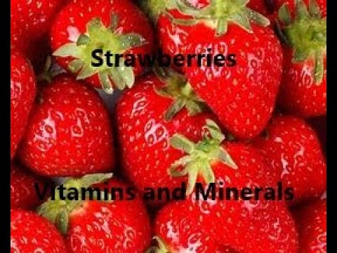 Strawberries Vitamins and Minerals