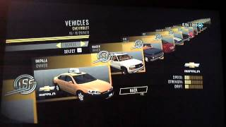 Repeat youtube video Driver San Francisco PC - All cars, vehicles (все машины)