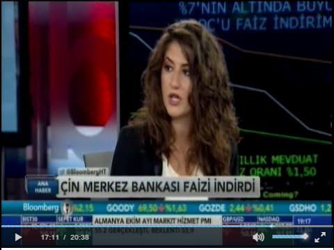 ALB Forex Araştırma Uzmanı Eda Önder, piyasalardaki faiz durumunu yorumluyor. Bloomberg HT