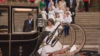 Princess Eugenie and Mr. Jack Brooksbank Wedding 2018