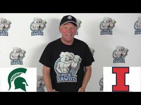 Michigan State vs Illinois 2/11/20 Free College Basketball Pick and Prediction CBB Betting Tips