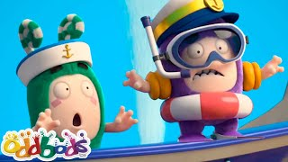 ODDBODS | Into The Unknown High Seas | Cartoons For Kids