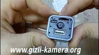 Hareket Sensörlü Usb Adaptör Mini Gizli Kamera Nasıl Kurulur