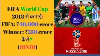 FIFA World Cup 2018 Business Model/ Prize Money (HINDI)