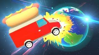 幹翻全世界--!! 用熱狗車來摧毀世界!! | 超舒壓毀滅系遊戲❤ thumbnail