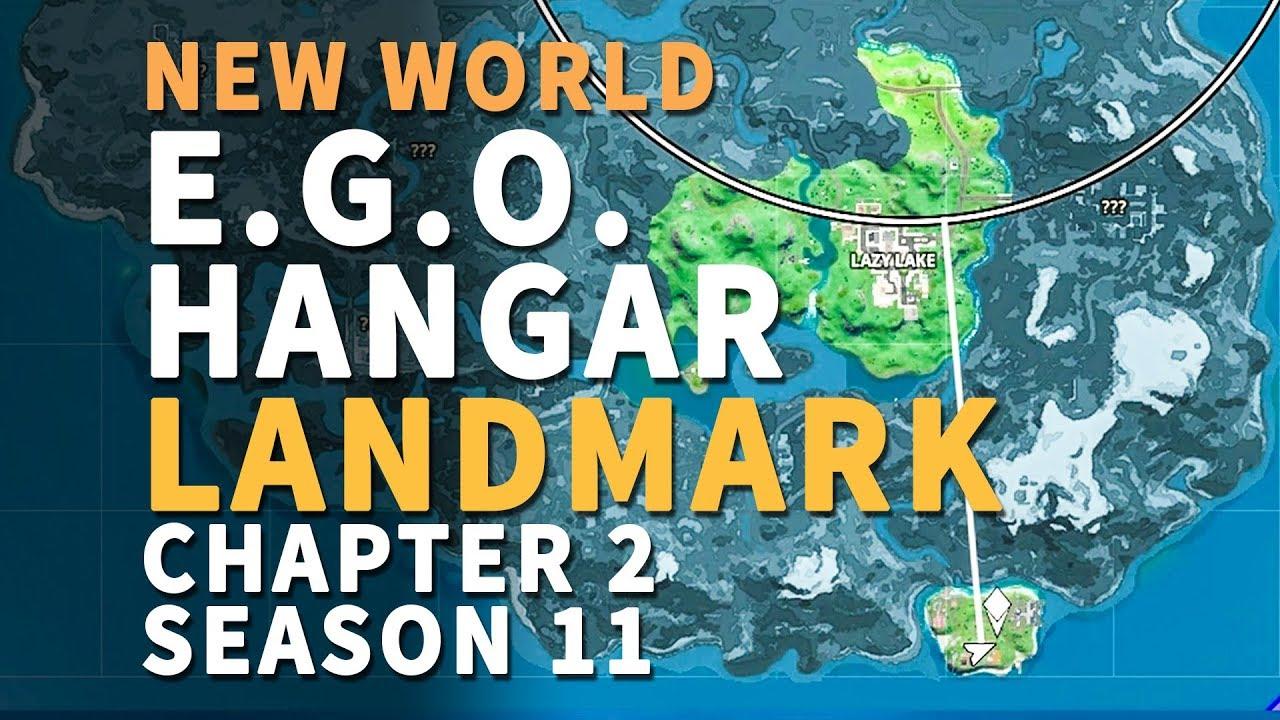 Ego Hangar Landmark Fortnite Chapter 2 New World Mission