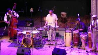 Milford Graves - Afro Cuban Roots - Vision Festival 18 - Roulette, Brooklyn - June 12 2013