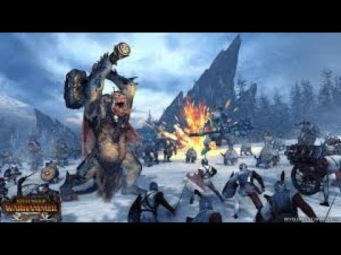 Total War Warhammer King does a battle! |