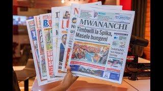 LIVE MAGAZETI: Masele chupuchupu, Dr. Bashiru atangaza Kishindo cha uchaguzi