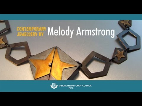 """Contemporary Jewellery by Melody Armstrong"" - Curator Interview"