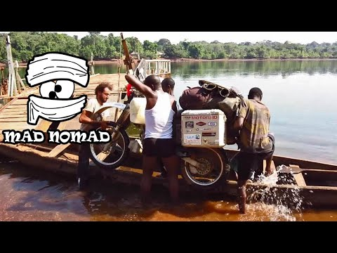 Guinea motorcycle trip - mad nomad