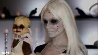 Идея грима на Хеллоуин