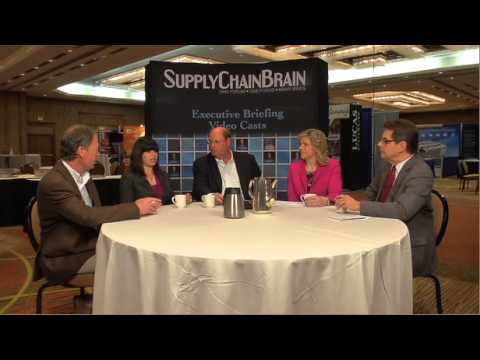 2013 WERC Conference - Dallas - Power Lunch Roundtable -SupplyChainBrain