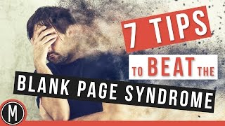 7 TIPS to BEAT the BLANK PAGE SYNDROME in the STUDIO - mixdown.online