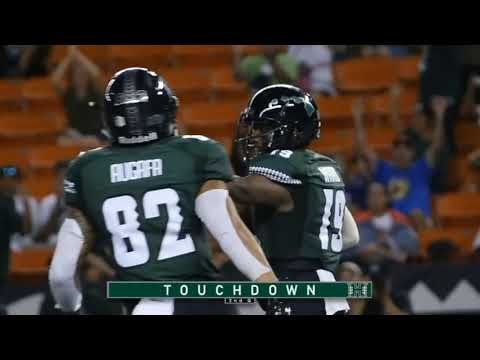 "Hawaii Warriors: Cole Mcdonald Sophomore Highlights 2018 ""A Star is Born"""