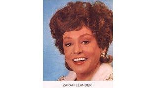 Zarah Leander - Der Wind hat mir ein Lied erzählt [Seltene Nachkriegsaufnahme]