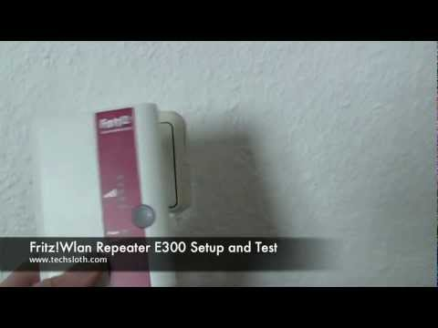 AVM Fritz Box Wifi Repeater Setup and Test