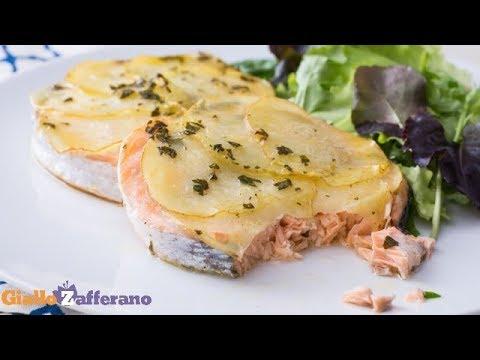 Ricetta Salmone Giallo Zafferano.Salmone Al Forno Pronto In 30 Minuti Youtube