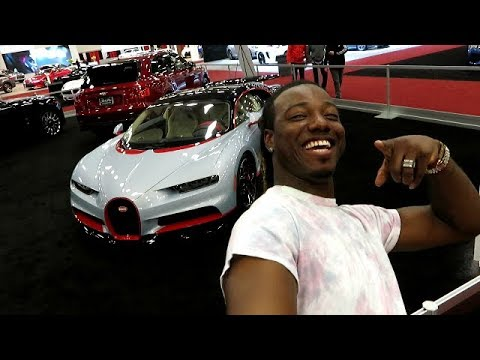 Dallas Auto Show >> Dallas Auto Show 2018 Bugatti Chiron