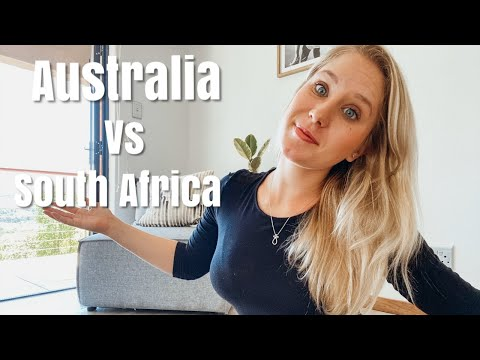 Differences Between Australia And South Africa   2019 Part 2