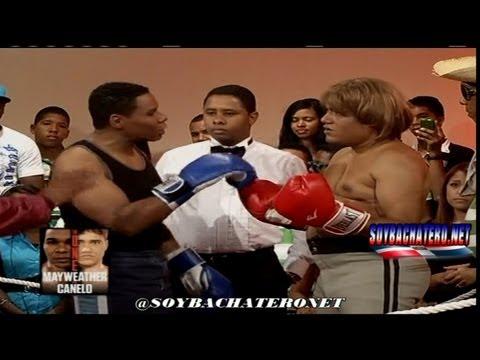 Super pelea Maywather vs Canelo, al estilo Raymond y Miguel @soybachateronet