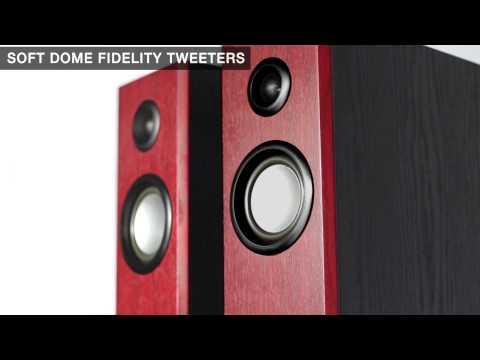 VM Audio Elux Active Bluetooth Floor-Standing Tower Systems