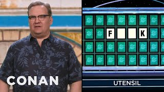 """Andy's Wildly Inappropriate """"Wheel Of Fortune"""" Guesses - CONAN on TBS"""