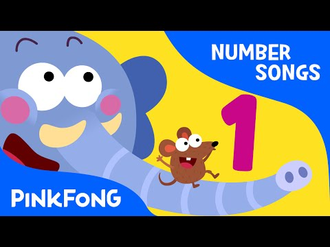 One Elephant | Number Songs | PINKFONG Songs for Children