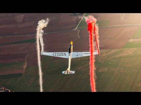 Amazing Aerobatic Glider Tricks w/ Luca Bertossio