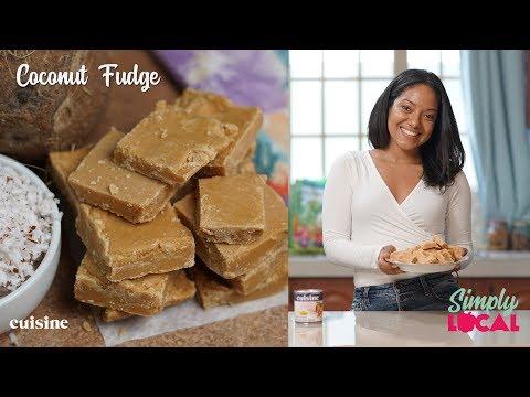 Coconut Fudge Recipe | Simply Local