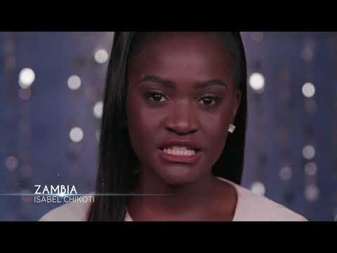 Meet Miss Universe Zambia 2017 Isabel Chikoti