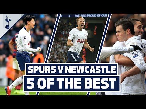 FIVE OF THE BEST | SPURS V NEWCASTLE | Ft. Bale, Kane, Son & Rebrov!