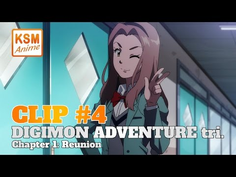 Digimon Adventure tri. Chapter 1: Reunion (Clip 4)
