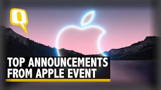 Apple iPhone Launch Event: iPhone 13, iPad, & New Apple Watch Unveiled   The Quint