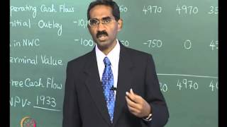 Mod-04 Lec-13 Analysis of Project Viability Capital Budgeting Guidelines-III