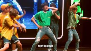 [1080p] 161022 ASTRO EUNWOO 차은우 Sexy Dance + Moonbin eyecontact #ASTROinJakarta
