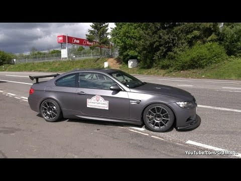 BMW M3 E92 Coupe w/ Akrapovic Exhaust System!