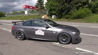 bmw m3 e92 coupe w akrapovic exhaust system