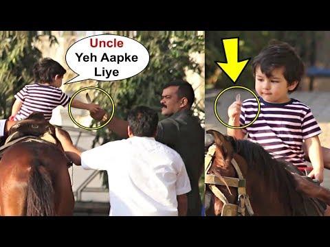 Taimur Ali Khan Sweet Gesture Towards His Bodyguard Mp3