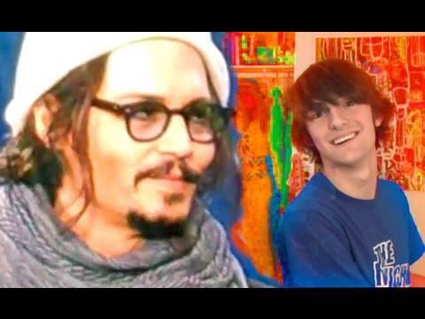 Alice in Wonderland in Hollywood w/ Johnny Depp!!