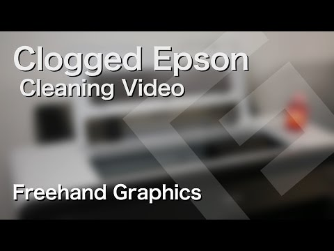 How to Clean a Severely Clogged Epson Print Head – Freehand Graphics