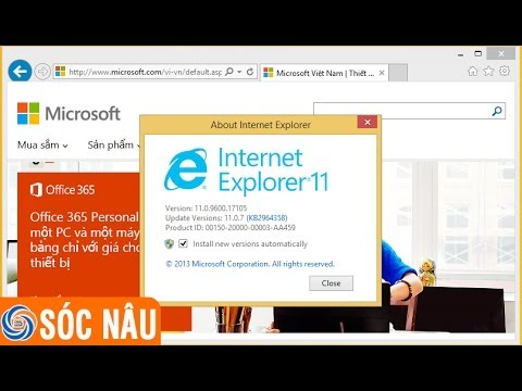 Download Internet Explorer 11 cho Windows 7